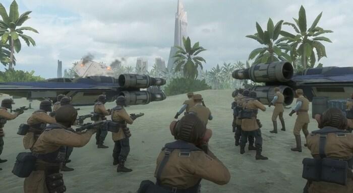 Star Wars Battlefront 2 игры про космос и корабли на пк