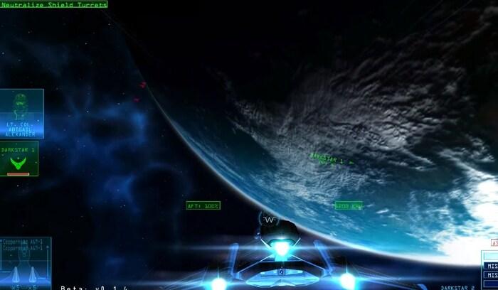 Starlight Interception космический симулятор на пк