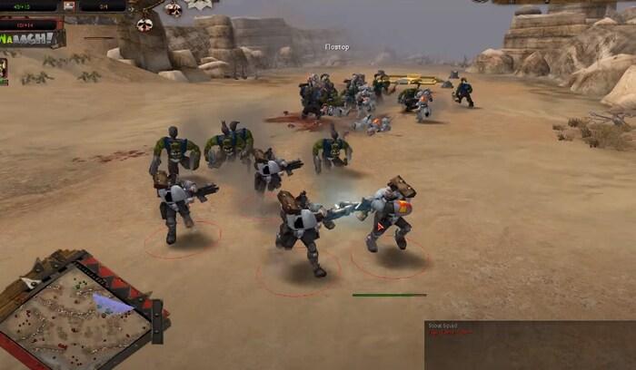 Warhammer 40000: Dawn of War игры про орков на пк