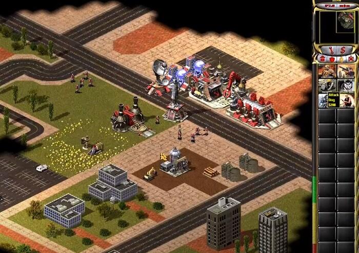 Command & Conquer Red Alert СССР против США