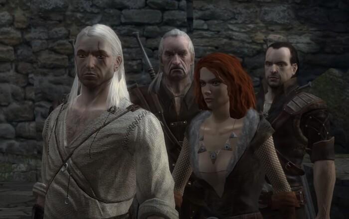 The Witcher игры серии