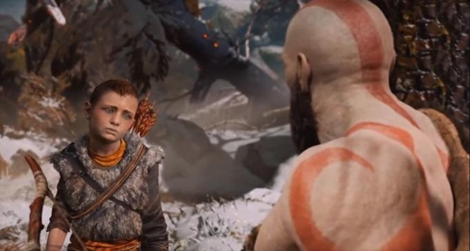 God Of War эксклюзив PS про викингов