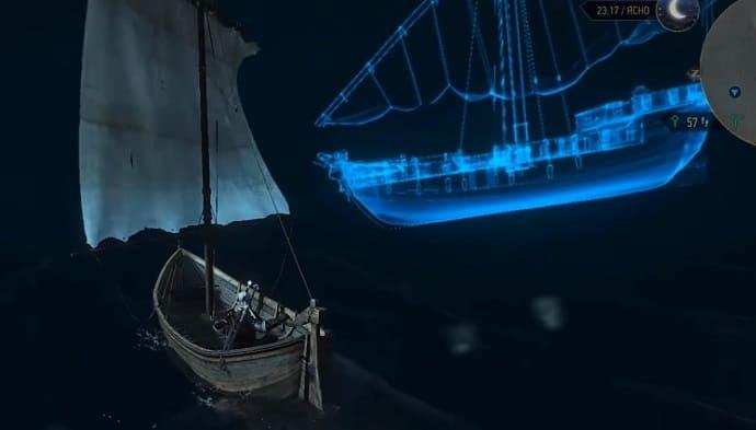 корабль-призрак в 3-м ведьмаке