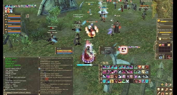 Lineage 2 онлайн игра для слабых ПК