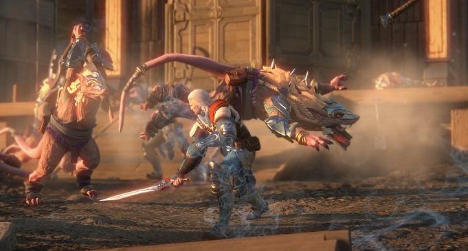 Skyforge MMORPG для слабых ПК