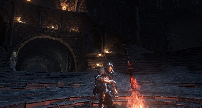 Dark Souls III похожи на скайрим