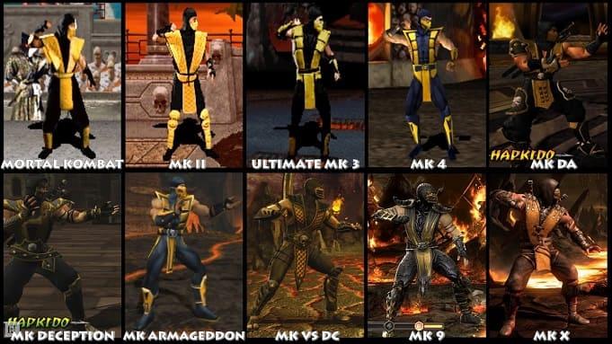 Эволюция серии Mortal Kombat
