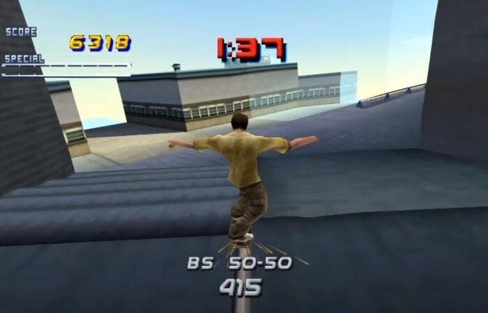 Игры про скейтборд Tony Hawk's Pro Skater 2
