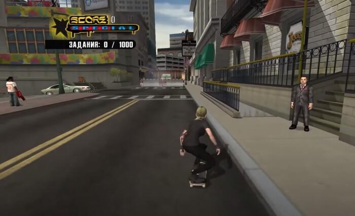 Игры про скейтборд Tony Hawk's Underground 2