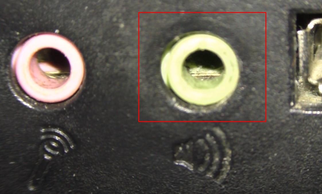 разъём 3.5 мм