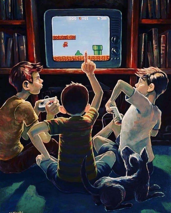 В чем особенность игры на геймпаде?
