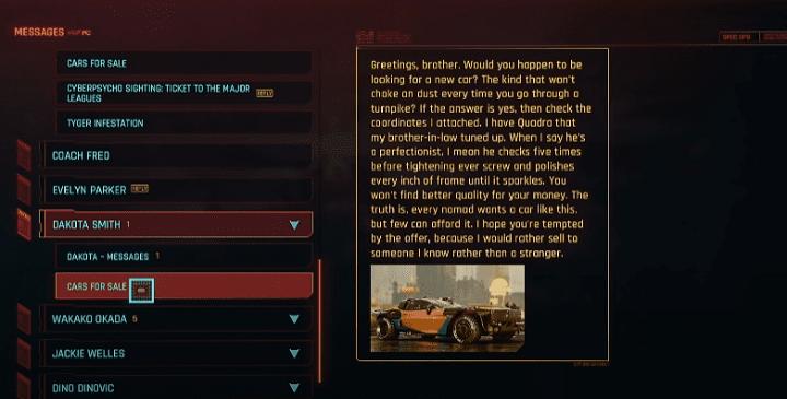 Как получить лучшие машины и мотоциклы в Cyberpunk 2077?