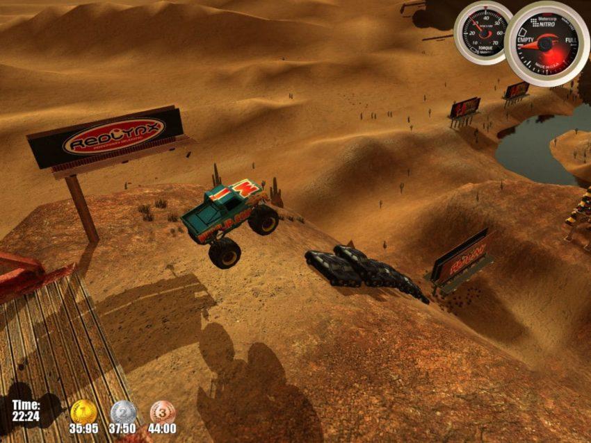 Monster Trucks Nitro гонки