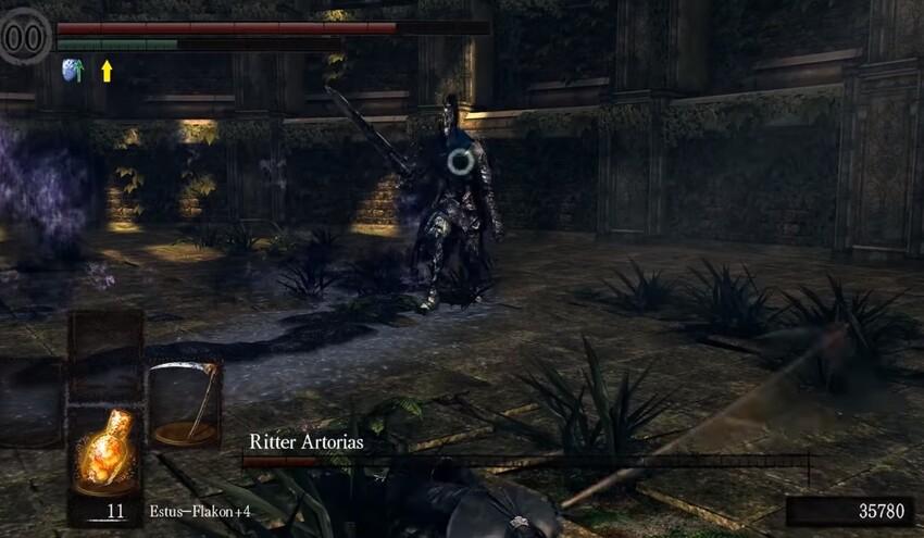 Арториас в Dark Souls тактика