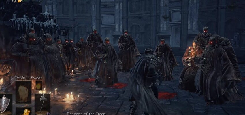 Дьяконы глубин dark souls 3