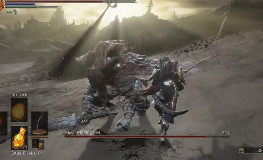Гаэль Dark Souls 3 Рыцарь-раб