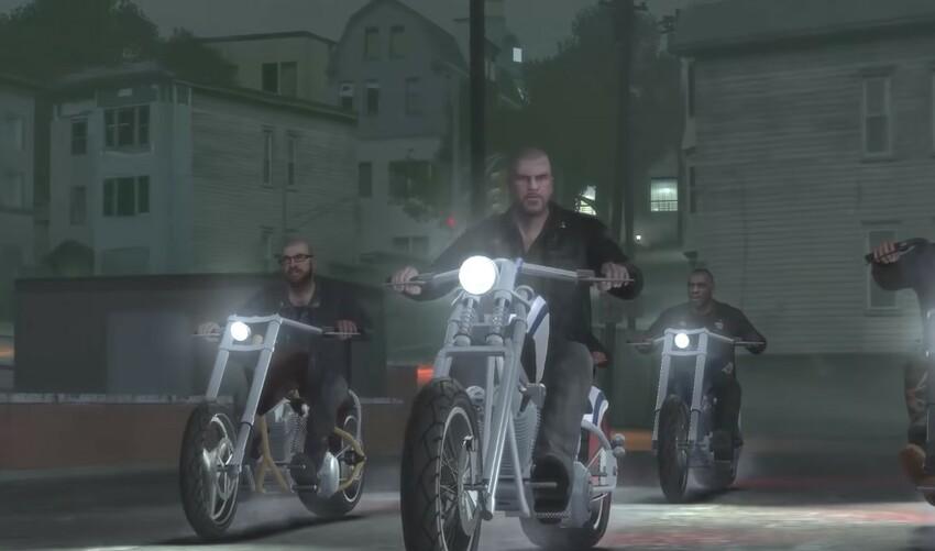 Grand Theft Auto IV The Lost and Damned сюжет о мотоциклистах
