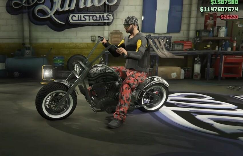 Grand Theft Auto V байкерские моды