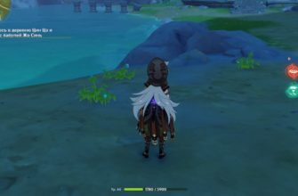 Туманные цветы Genshin Impact
