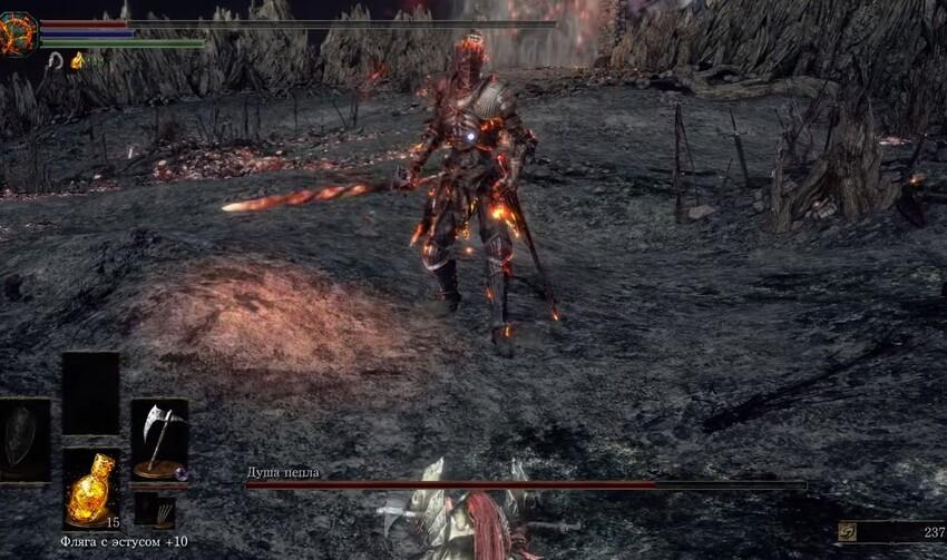 Dark Souls 3 Душа Пепла как победить