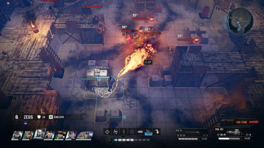 Wasteland 3 атака