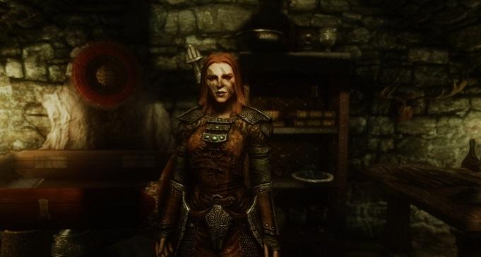 Эйла Охотница в Skyrim: все особенности
