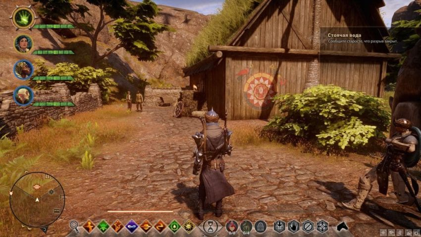 Dragon age: inquisition Крествуд