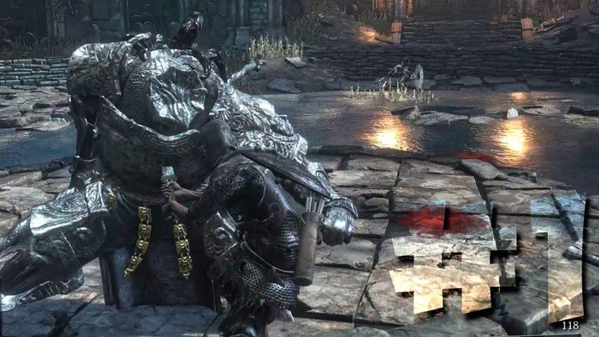 Парирование Dark Souls 3