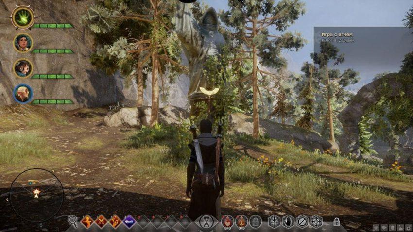 Dragon age: Inquisition внутренние земли