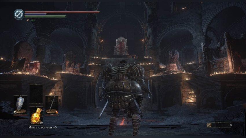 dark souls 3 получение титанита дропом