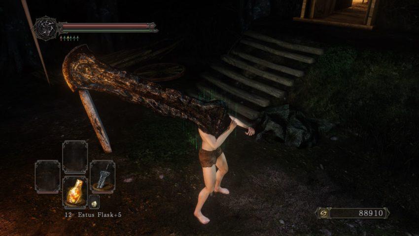 Черный меч в игре Dark Souls 2