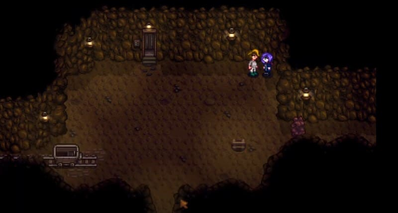 Абигейл в пещере