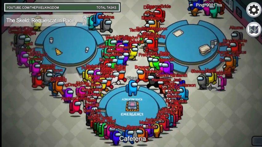 Как сделать 50, 100 и более игроков в Among As в одном лопе?