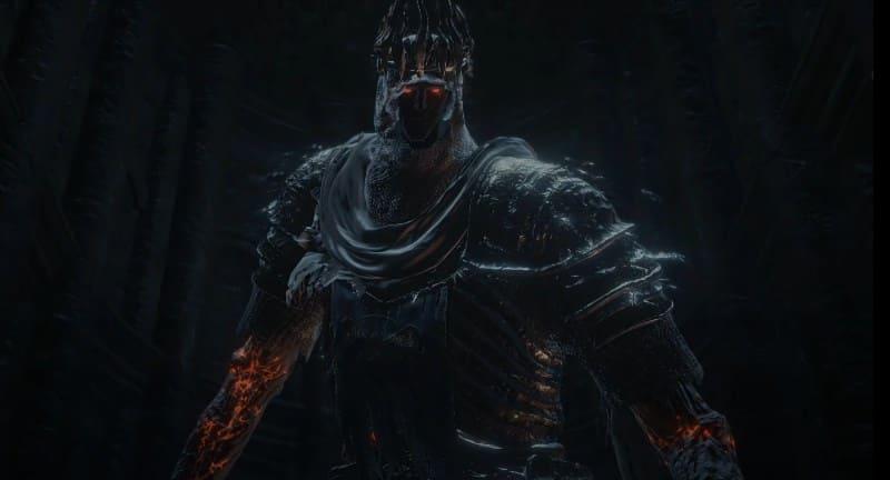 Гигант Йорм на троне