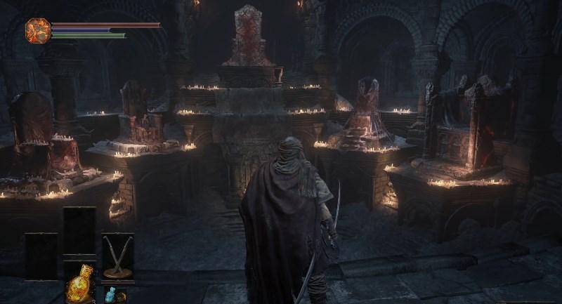 Храм Огня в Dark Souls 3