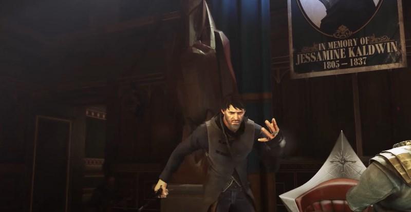 Корво Аттано из игры Dishonored 2