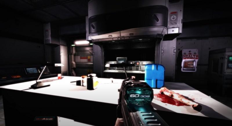 Лаборатория Альфа в Дум 3