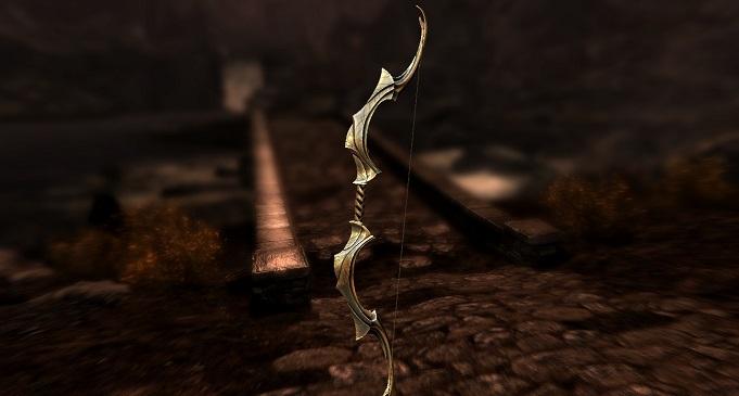 Лук Ауриэля в Skyrim: как получить, ID код, описание лука