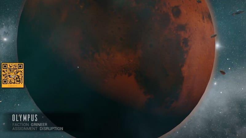 Миссия Олимпус на Марсе