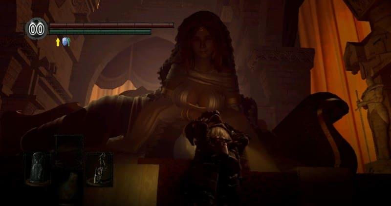 Принцесса Солнечного Света Гвиневра в Дарк Соулс 3