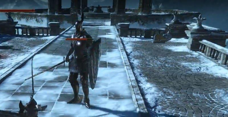 Серебряный рыцарь в Дарк Соулс 3