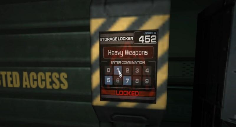 Шкафчик 452 в CPU Complex