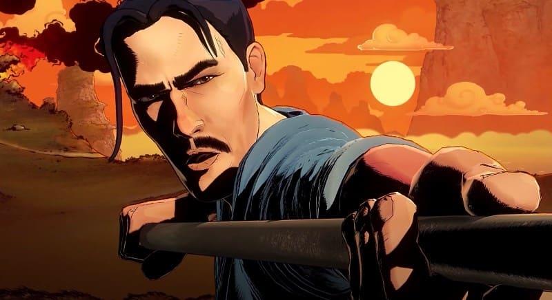 Захватывающая игра 9Monkeys of Shaolin: Prologue