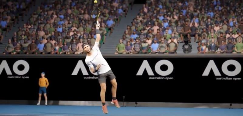 Теннисный симулятор AO International Tennis