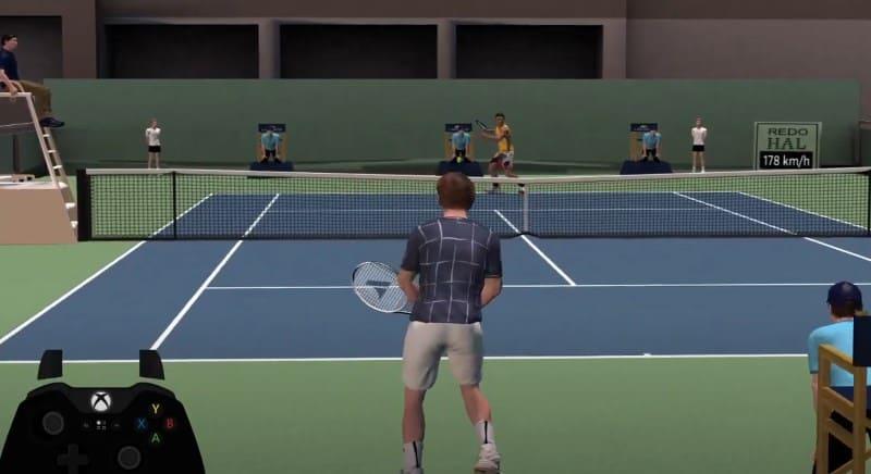 Симулятор First Person Tennis: The Real Tennis Simulator