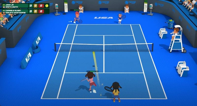 Аркада Super Tennis Blast