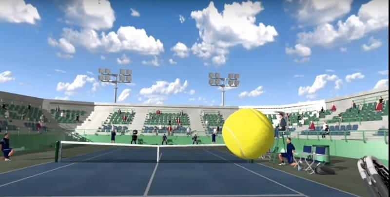 TennisVR - виртуальный теннис