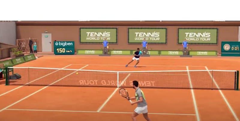 Tennis World Tour - теннисный симулятор