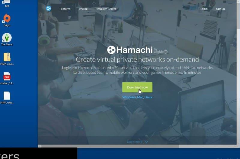 Установка Hamachi