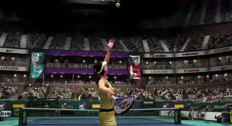 Виртуальный теннис Virtua Tennis 4
